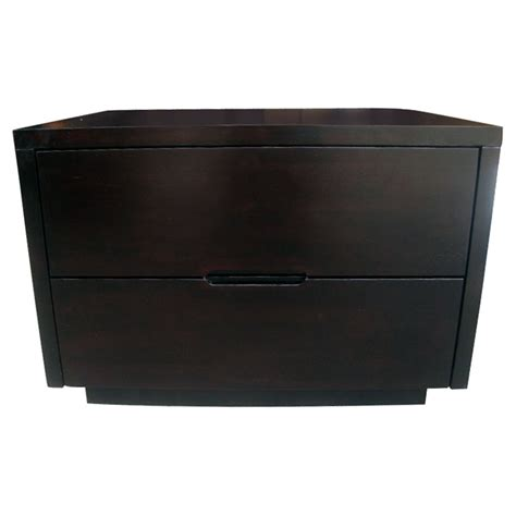 wood nightstand with drawers bliss wenge wood nightstand with 2 drawers dcg stores