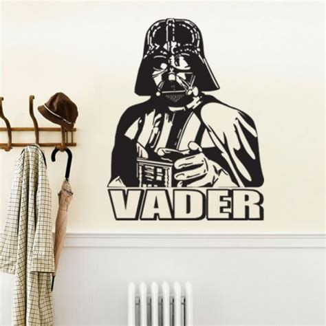 darth vader wars vinyl wall decal