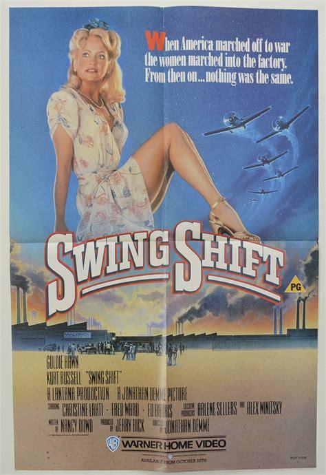 swing shift movie swing shift original cinema movie poster from
