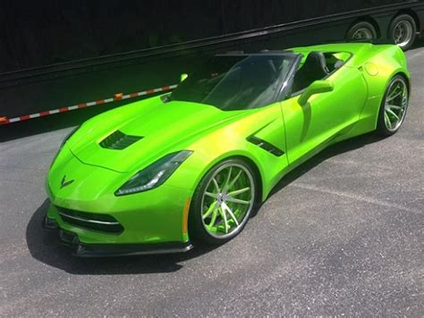 corvette stingray green antifreeze green huh corvetteforum