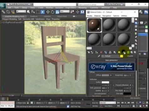 tutorial membuat tempat tidur di 3ds max cara membuat kursi di 3ds max youtube