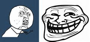 Troll Face Meme Mask - get your halloween on dress as your favorite internet meme