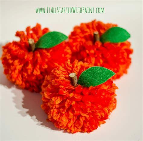 Pom Pom 4 pom pom pumpkin