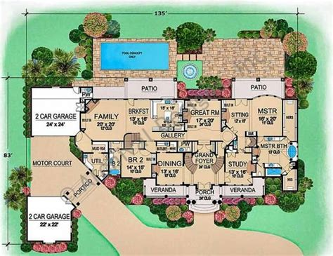 large luxury house plans 149 best floor plan images on house floor