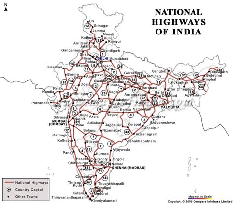 road map india to usa general studies road networks in india ias tutorial