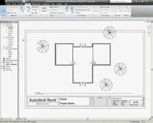 Floor Plan Title Block by Title Blocks And Printing In Revit Architecture Youtube