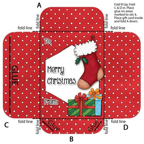 printable christmas gift card holder template make your own gift card envelope holder envelopes