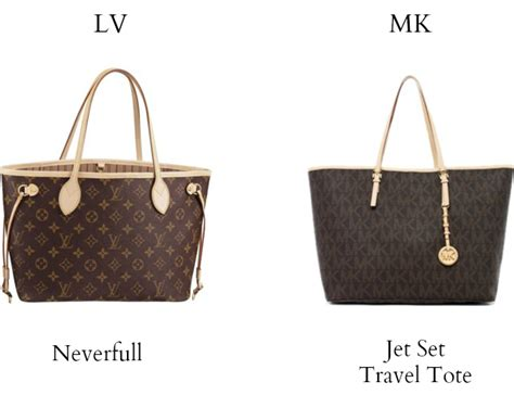 Tas Lv Neverfull Set Monocoklat louis vuitton vs michael kors the southern thing