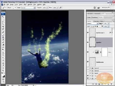 magic layout editor tutorial sparkling dust magical sparkles brush photoshop cs3