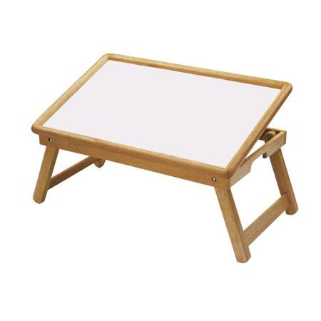bed tray table walmart flip top table bed tray white melamine and beechwood
