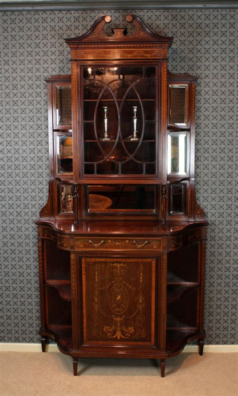 cabinet maker warehouse free shipping inlaid mahogany side cabinet by edwards