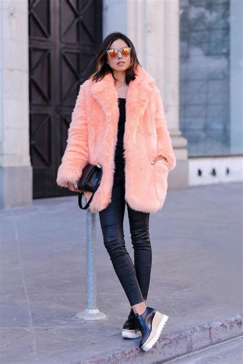 20 looks with fur coats glam sugar