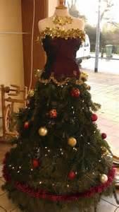 Dress form trees and christmas tree dress on pinterest
