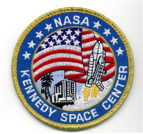 Kemeja Denim Pendek Space Shuttle Patch nasa patch for kennedy space center gs patch ideas space center nasa and space
