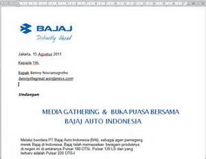 bajaj auto indonesia undang berbuka puasa bersama
