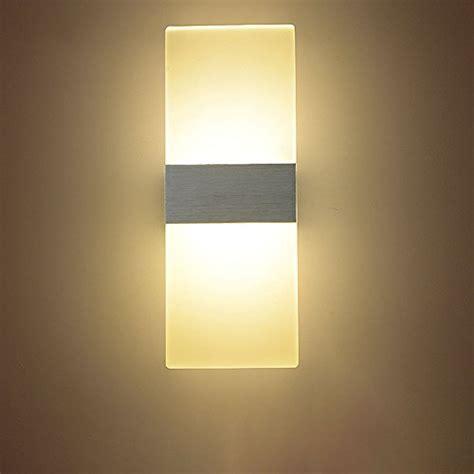 Modern Sconces Lighting by Navimc Modern Acrylic 6w Led Wall Sconces Aluminum Lights