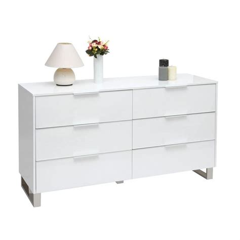 Commode Laquee Blanche Design by Commode Design Laqu 233 E Blanche Halifax Achat Vente