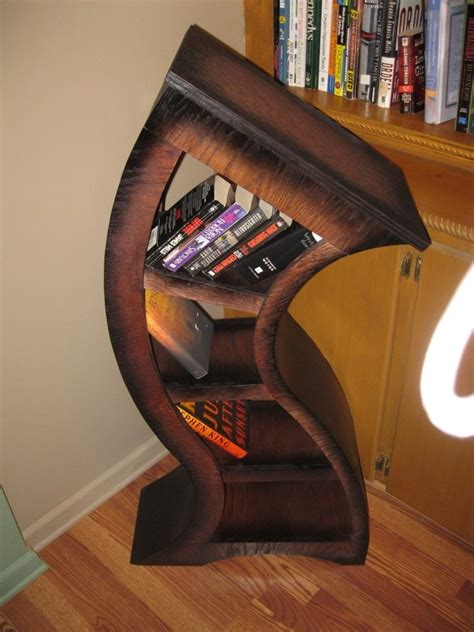 Curved Book Shelf by Sale 100 Dollars Free Shipping Handmade 4ft Curved