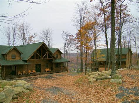 creek lake log home for sale