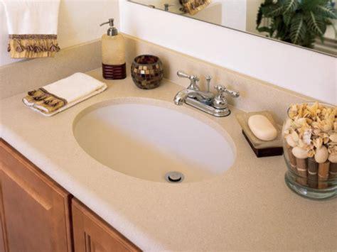 bathroom granite countertop costs hgtv solid surface bathroom countertops hgtv