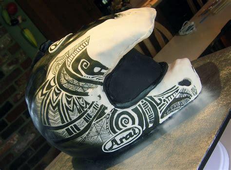 motocross helmet cake zaco cakes arai quot warfare quot dirtbike helmet