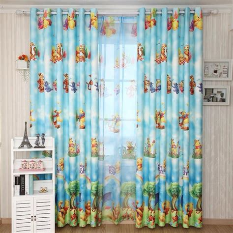 winnie the pooh bedroom curtains pooh curtains promotion online shopping for promotional