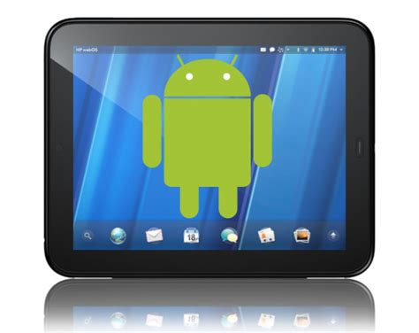 Hp Htc Hd 2 android on hp touchpad bounty now 2 000