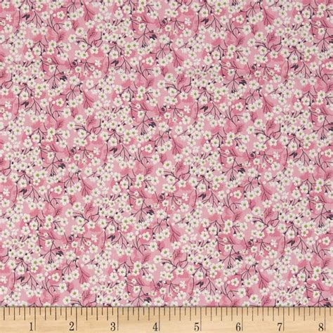 discount designer fabric clearance discount home liberty fabrics classic tana lawn mitsi valeria pink