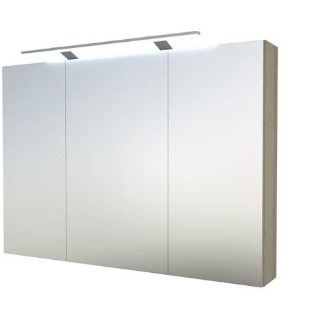 Armoire De Toilette Miroir Avec Eclairage by Armoire De Toilette 120x70cm Avec Miroir Et
