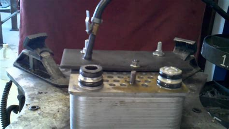 ford 6 0 oil cooler 2004 ford 6 0 oil cooler leak test at craigs car care in