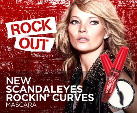 Kate Moss Mascara Ads Banned After Complaints Lashes Were False by Rimmel Rockin Mascara Pink