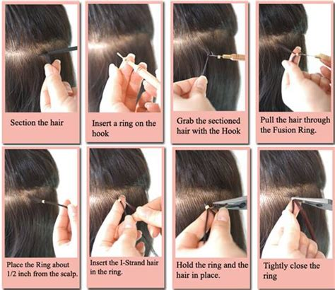 how to care for hair extensions with micro rings advance nail technology gel nails acrylic nails