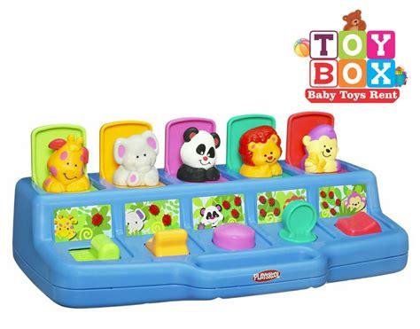 Playskool Pop Up Shape Mainan Anak toybox baby toys rent rental mainan dan perlengkapan bayi samarinda