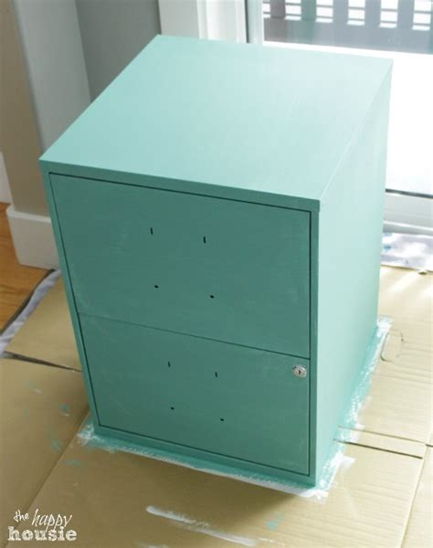 Chalk Paint On Metal Filing Cabinet Paint Metal File Cabinet With Chalk Paint Project Pdf Woodworkers Source