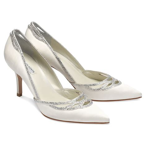 Benjamin Adams Margot   Wedding Shoes   Crystal Bridal
