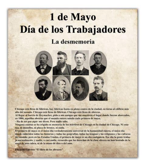 Resumen 1 De Mayo by Informaci 243 N Sobre El 1 186 De Mayo D 237 A Trabajador Con