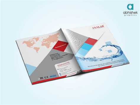 10 page brochures foster printing creative brochure design agency in india abhishek graphics