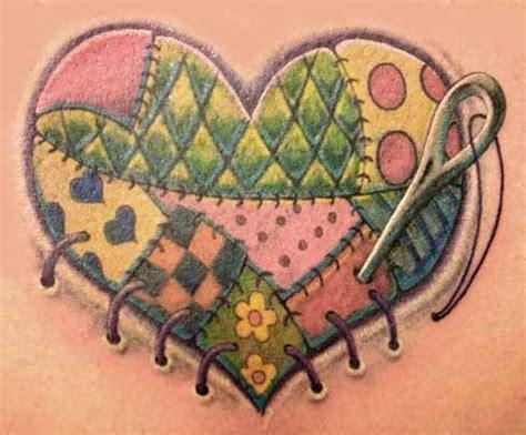 quilt pattern tattoo 14 unique quilting tattoos ideas