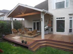 patio cover and trex deck corvallis tnt builders
