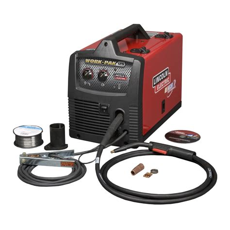 lincoln flux lincoln work pak 125 flux wire welder for sale u2699