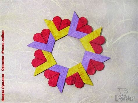 Complex Origami Flower - 1000 ideas about origami hearts on origami