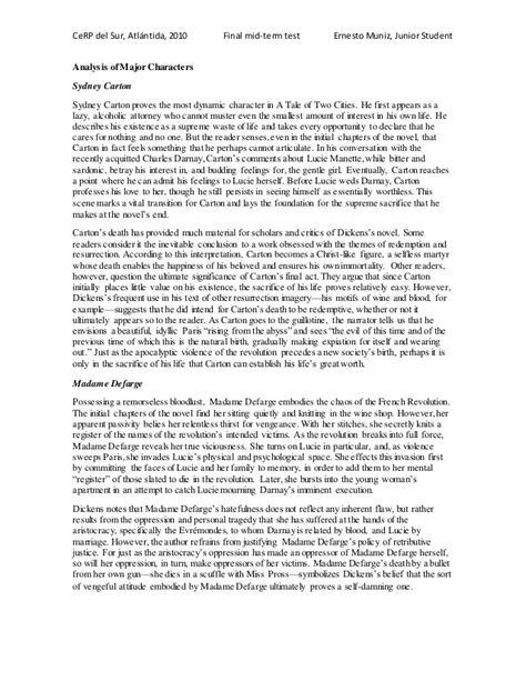 147 a tale of two cities 148 essay gcse english marked by