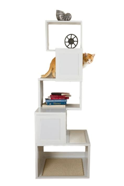 modern cat tree ikea ikea hack modern cat tree jazzy pinterest