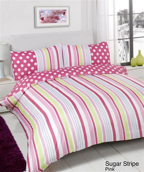Superking Bed Linen Sets Duvet Quilt Cover Bedding Set Pink Single King Kingsize King Ebay