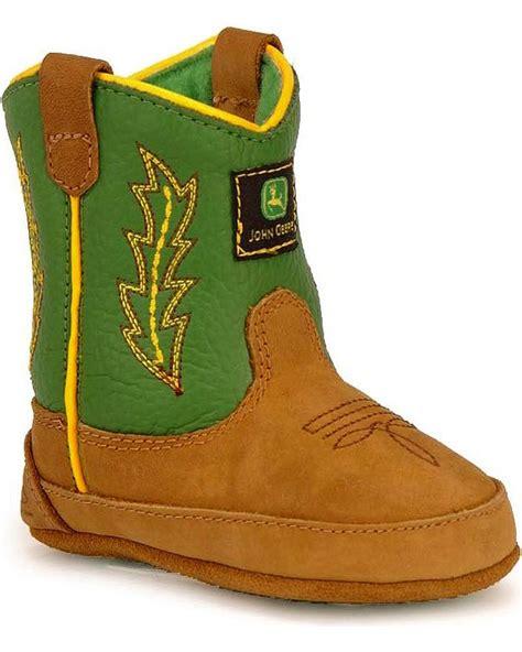 deere baby boots deere infant johnny poppers boot jd0186 ebay