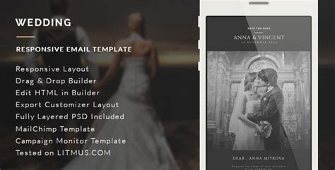 Wedding Invitation Email Template Builder Access Traclaborat Wedding Email Template