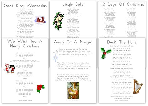 printable christmas carols free printable christmas carols and songs