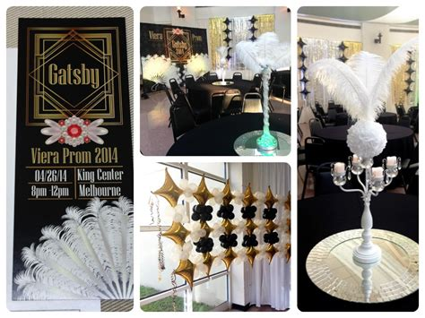 great gatsby prom decorations great gatsby prom theme centerpieces www pixshark com