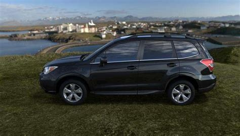 subaru forester 2016 black 2016 subaru forester review price specs mpg msrp