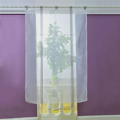modern roman liftable blinds sheer voile kitchen bathroom